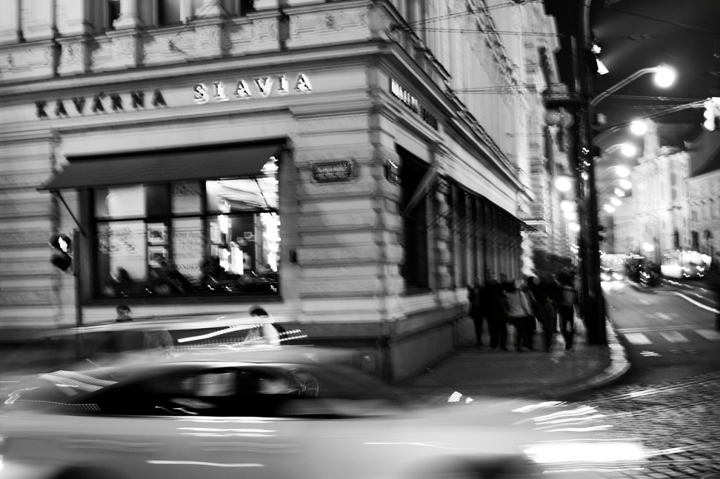 Cafe Slavia - (click on the photo for lightbox view)