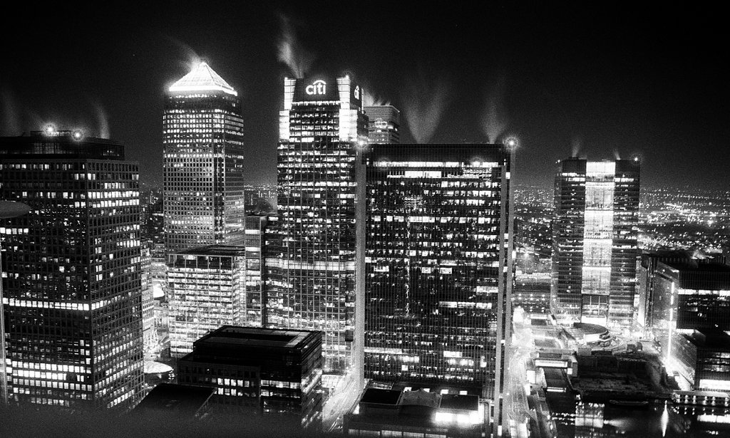 Night Spirits, Canary Wharf, London, UK
