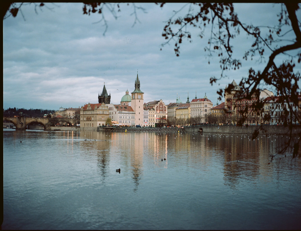 On the banks of the Vltava