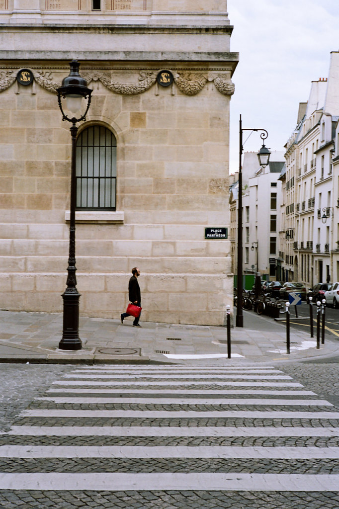 Parisian pedestrian, Paris, 2015