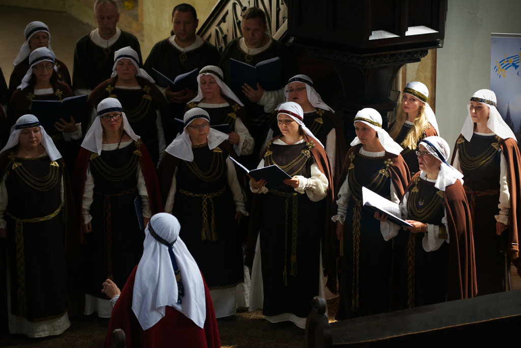 "The choir ""Zemyna"" from Lithuania"